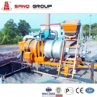 40t/h Portable Asphalt Drumed Mix Plant For Road Construction