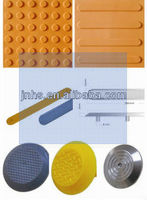 Yellow Tactile Paving Bricks cord weight for vertical blind