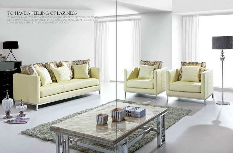 Square Sofa Set