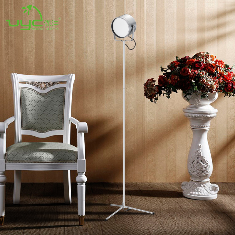 Touch Sensor Wireless Remote Control Led Tripod Hotel Floor Lamp