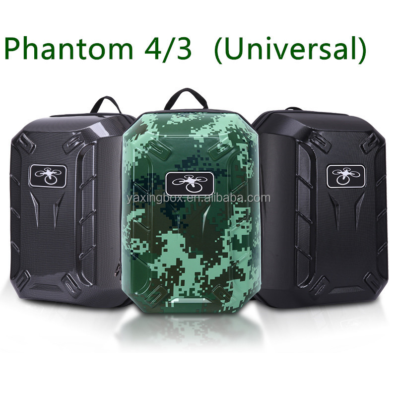 DJI Phantom 3 Standard advanced &Professional & Phantom 4 Hardshell Bag Backpack waterproof Shoulder Carry Case Hard Shell Box
