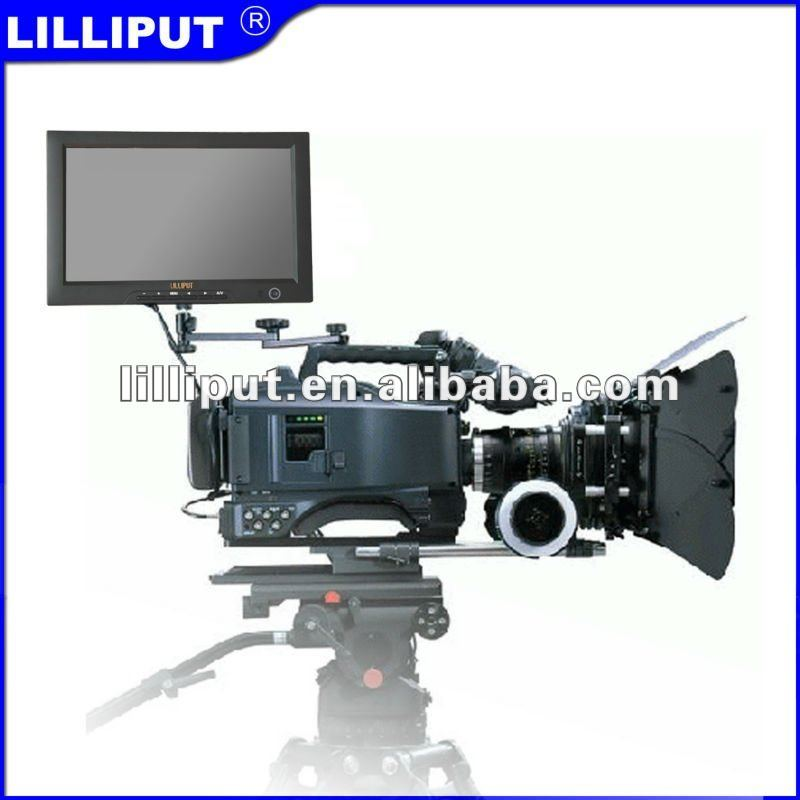 "10.1"" 1080P with SDI, HDMI,YPbPr, AV on camera field hd monitor"