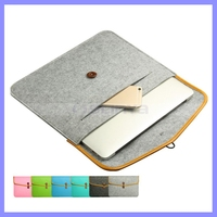 4 Size 11/12/13/15.4 inch Hard Laptop Shell Felt Cover Protective Case For Macbook Pro Air Retina