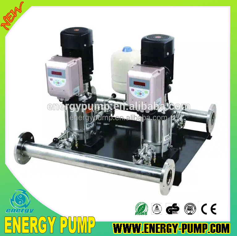 2016 variable frequency constant pressure multistage booster pump with controller