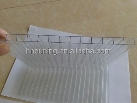 Clear Polycarbonate Sheet Plastic Building Materials Sun Sheets & PC Embossed Sheets For Greenhouse