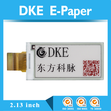 2.13 inch graphic / dot matrix e-ink technology e paper display, mono or 3 color e-paper display, Electronic Shelf Label (esl)