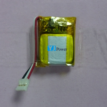 3.7v 40mah 401215 li polymer rechargeable battery