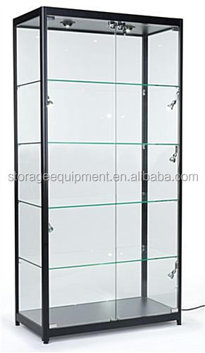 2017 Newest glass display cabinet&jewelry display cabinet