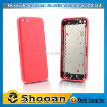 cherry mobile phone parts wholesale for iphone5c custom back cover case