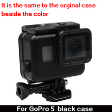 GoPro Hero 5 Hero5 all Black Waterproof Case Underwater Protective Housing Cover Camera Accessory