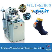 High quality Italy Control sock knitting machine to make socks machine price