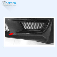 JS RACING Carbon Fiber Front Bumper Air Vent for HONDA CIVIC FD2