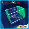 2016 HOT customized acrylic donation box with lock and key