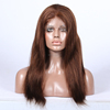 100% virgin human hair top fashion hot sale wig instock curl hair skin top front lace wigs for black women