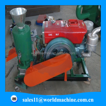 Small animal feed pellet line/animal feed pellet press machine