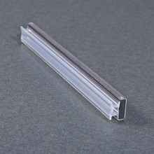aluminium shower seal door strip Flexible PVC magnetic seal