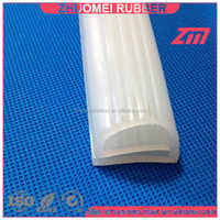 silicone door rubber seal strip
