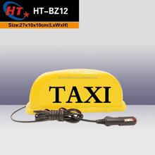 cab led light PC material led taxi top lights