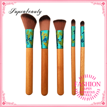 5pcs Naked Makeup Brush Set Nylon Bristles Beauty Cosmetics