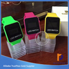 Promotional popular in market fashion silicone women men LED wrist watch