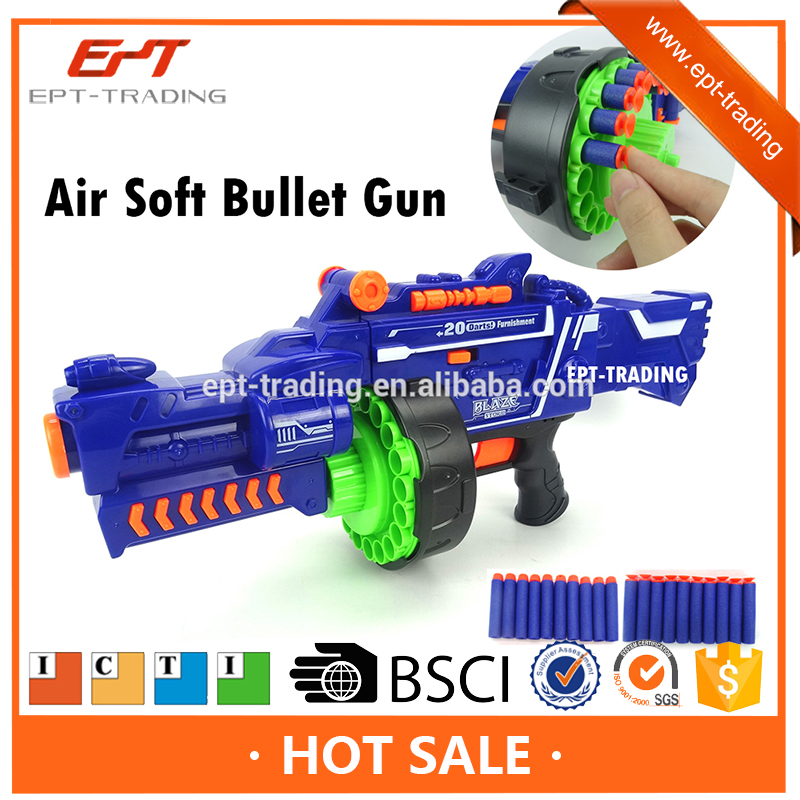 Top Quality B/O toy gun with sound with CE&ISO