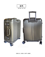 strong luggage/rolling duffel bag with aluminum