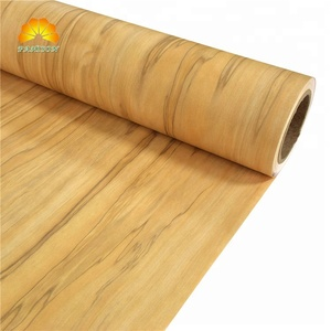 Super Matte Wood Design PVC Film for Wrapping Aluminum Profile