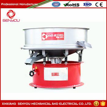 China Gold manufacturer vibration sieve for ceramic slurry professor with high quality