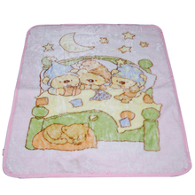 custom print high quality super soft 100poly fleece flannel children baby blanket