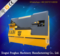 New generation construction rebar bending and cutting machine , automatic stirrup / steel bar bender