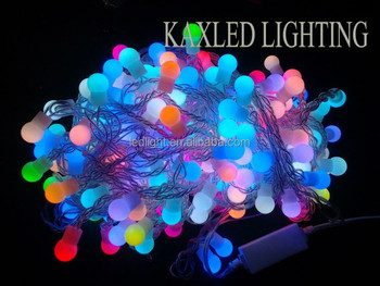 LED RGB change color LED ball lights/ christmas and wedding decoration LED ball lights