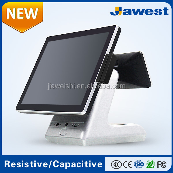 Jawest Multi-Functional 15 inch Full Flat Fanless POS System