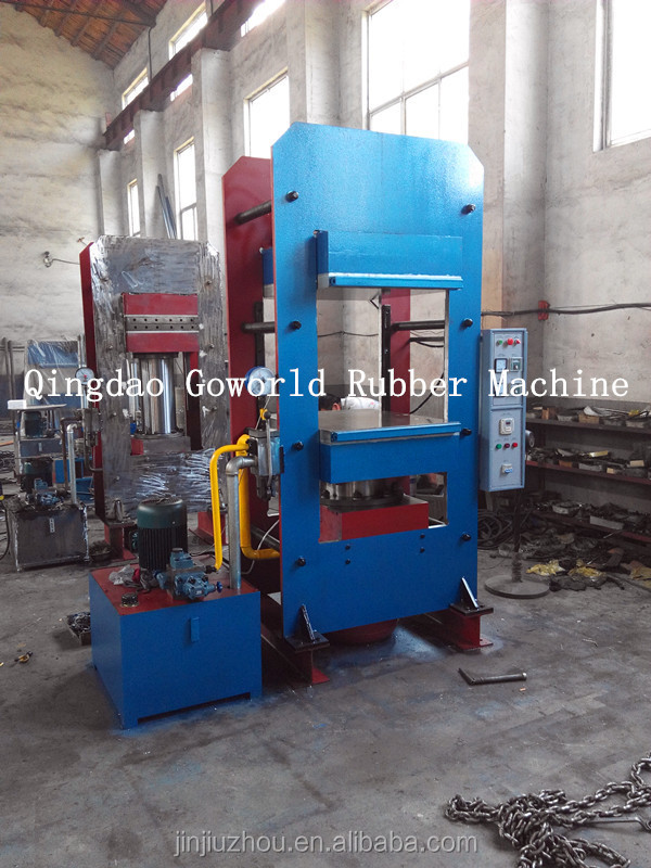 Motorcycle tires vulcanizing machines / hydraulic rubber tyre molding machine