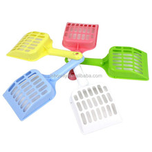 High quality green Cat litter scoop/ the cat sand shovel/cat poop scoop cat products