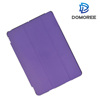 2017 China supplier hot sale 9.7 inch leather PU purple folding smartcover case for apple ipad