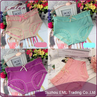 2015 New fashion lady jacquard underpants in bulk