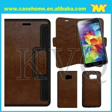 Custom Mobile Phone Vintage leather wallet For Samsung Galaxy S6 Case