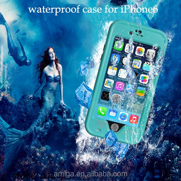 alibaba express Redpepper Underwater 2M Protective TPU +PC Waterproof Cases For iPhone 6 Plus Waterproof Cover