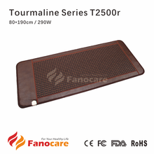 Fanocare far infrared light anion therapy thermal massage tourmaline heating germanium bed mattress