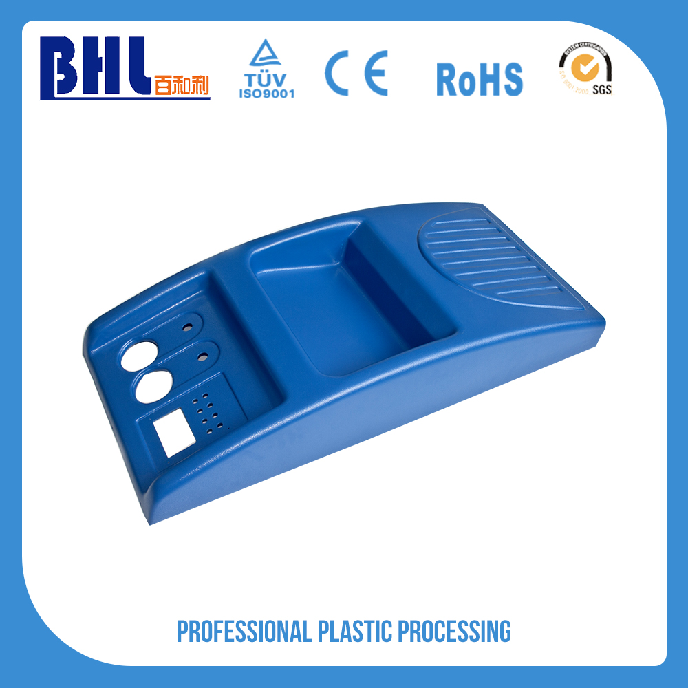 Blue abs plastic thermoforming auto part