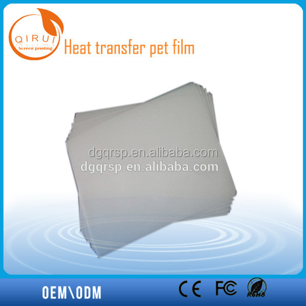 single coat ed silicon PET release film
