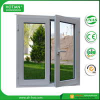 Cheap Price PVC Plastic Windows High Quality Double Opening Casement Window