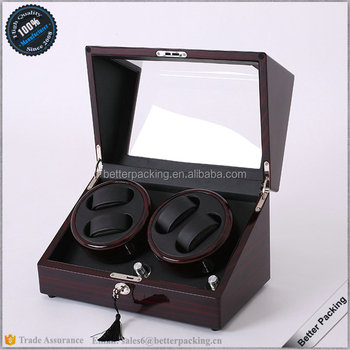 Wholesale Luxury 4 Slot Storage Box Case Automatic Watch Winder Parts