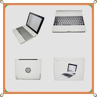 Portable Ultra slim Light 360 Rotatable bluetooth keyboard for ipad 2 case Compatible for Apple iPad 3/2