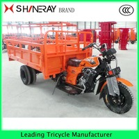 Shineray Double Rear Wheel Cargo 300cc Motorcycles With Tipper