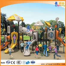 Unique Children Outdoor Playground with climber slides swings