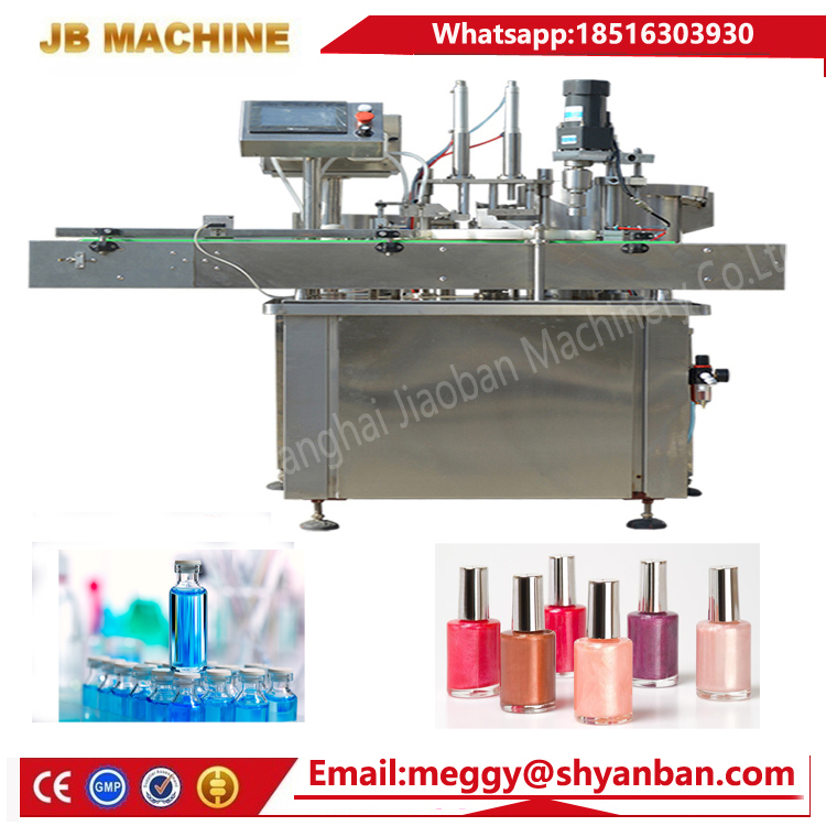 2-100ml Gold supplier automatic JB-Y2 olive oil/vegetable oil/essential oil filling production line