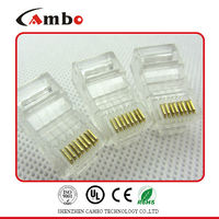 nice suppliers CAT5E/CAT6 Stranded Solid network cable 8P8C unshielded/shielded Gold Plated plug rj45