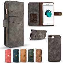 High quality PU Wallet Style Case for Iphone 6/6p/7/7p,cover case for Iphone