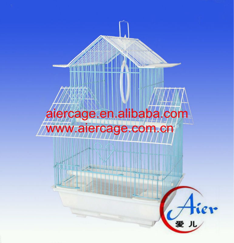 pet shop bird cage pendant pvc bird breeding cages